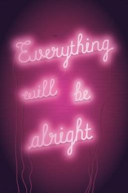 everything will be alright poster