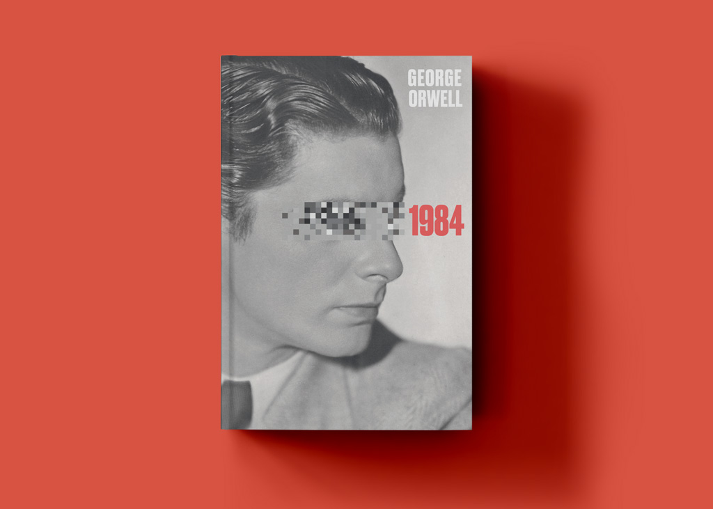 classic book cover design great gatsby blue whippet studio grace fussell graphic design agency manchester orwell 1984