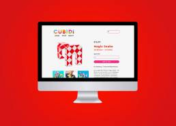 cubidi toy branding toy packaging design grace fussell graphic designer manchester blue whippet studio