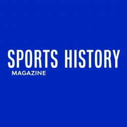 sports history magazine client blue whippet studio manchester graphic design agency